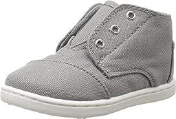 TOMS Kids Unisex Paseo Mid (Infant/Toddler/Little Kid) Ash Canvas Sneaker 2 Infant M