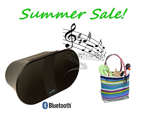 Coolstream Portable Bluetooth Speaker. Wireless Speaker And Speakerphone For Iphone, Ipad, And Samsung Galaxy. Also Play Music From Usb Thumb Drive & Sd Card.