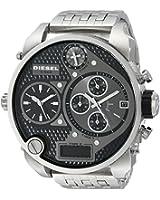 Diesel - DZ7221 - Montre Homme - Quartz Analogique - Digital - Chronomètre - Bracelet Acier Inoxydable Argent