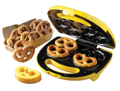 Nostalgia Electrics SPM400 4-Pretzel Soft Pretzel Maker (Pretzel Pan compare prices)