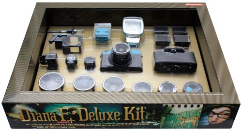 Lomography Diana F+ Deluxe Camera Kit