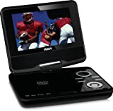 RCA DPDM70R 7-Inch 480x234 Portable Digital TV with Built-In DVD, Black