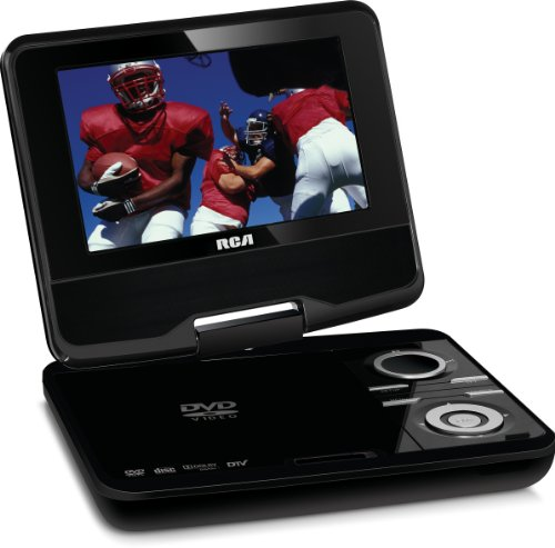 RCA DPDM70R 7-Inch Portable Digital TV with Built-In DVD (Black)