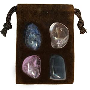 Gemstone ZODIAC KIT Crystal Healing Set - SAGITTARIUS