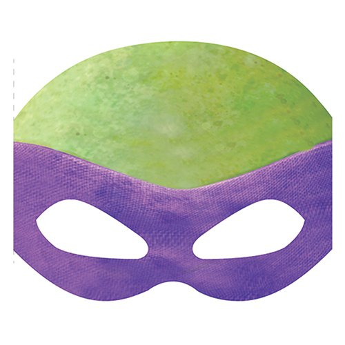 Paper Teenage Mutant Ninja Turtles Masks Assorted 8ct