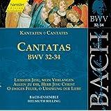 Edition Bachakademie Vol. 11 (Geistliche Kantaten BWV 32-34)