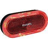Philips Fahrradrücklicht Safe Ride LED Lumi Ring Batteriebetrieben, Rot, SRRBLRBNBX1