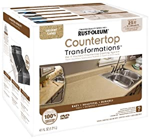 Countertop Paint Kits Canada : Countertop Refinishing Kit Canadian Tire