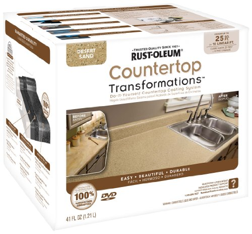 Rustoleum Countertop Paint Amazon : Rust Oleum 258514 Counter Top Transformations Small Kit Desert Sand