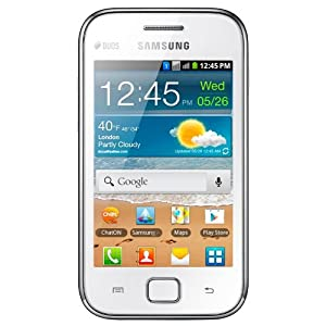 Samsung Galaxy Ace Duos S6802 Android Unlocked Quad Band GPS WiFi Phone (Blanco) - Español