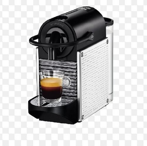 Buy Cheap Nespresso C60 Pixie Espresso Maker, Chrome with Steel Dots