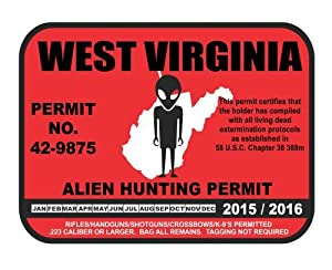 West virginia alien hunting permit license for Wv fishing license online