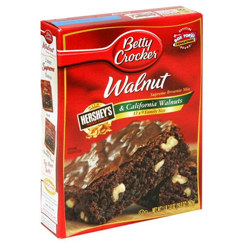 Buy Betty Crocker Premium Brownie Mix, Walnut Supreme, 19.8-Ounce Boxes (Pack of 12) (Betty Crocker, Health & Personal Care, Products, Food & Snacks, Baking Supplies, Baking Mixes, Brownie Mixes)