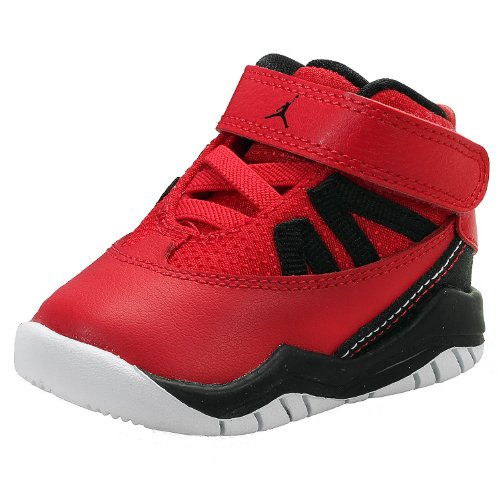 Nike (Td) Toddler Jordan Prime Flight Basketball Shoes, Red, 10 M Us