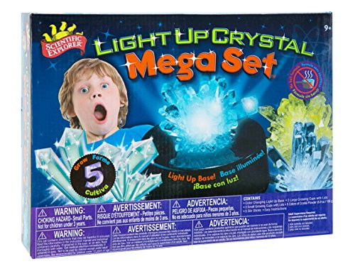 Scientific Explorer Light Up Crystal Mega Set