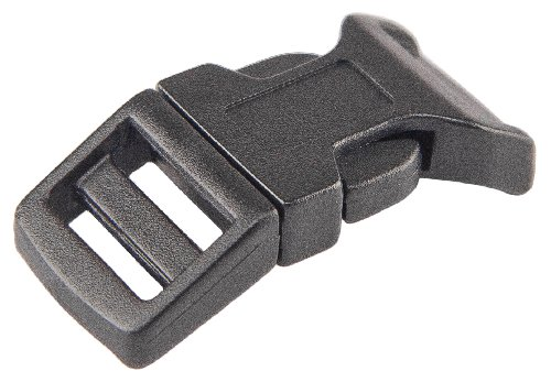 "Lowest Prices! 100 - 5/8"" Economy Contoured Side Release Plastic Buckles"