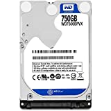 Western Digital Bare Drives 750GB WD Blue SATA III 5400 RPM 8 MB Cache Bulk/OEM Notebook Hard Drive WD7500BPVX