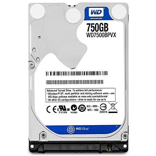 WD 750 GB 2.5-inch SATA Internal Hard Drive – Blue