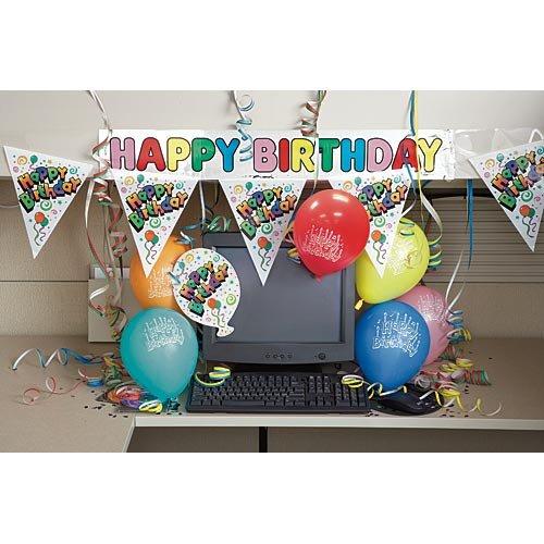 Happy Birthday Cubicle Decorating Kit