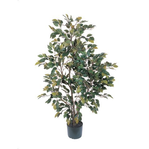 Nearly Natural - 4 Ft Ficus Silk Tree (Nearly Natural 4 Feet Ficus compare prices)