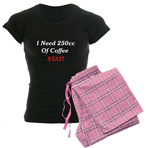 Cafepress I Need 250Cc Of Coffee Women'S Dark Pajamas Women'S Dark Pajamas - L