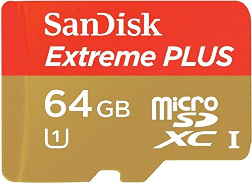 Sandisk Extreme Plus (80Mb/S) Gopro Hero 4K 64Gb Microsdxc Card Is Custom Formatted For High Speed Flawless Data Transfer While Providing Absolutely No Loss Or Delayed Recording Times! Professional Standard Sd Adapter Included. (Up To 80Mb/S Read, 533X, U