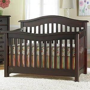 Bonavita kinsley lifestyle convertible crib for Bonavita nursery furniture