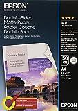 Epson Matte Paper - Papel para impresora de tinta (A4, 50 hojas), blanco - Best Reviews Guide
