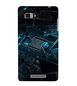 PrintVisa Modern Stone Design 3D Hard Polycarbonate Designer Back Case Cover for Lenovo Vibe Z K910