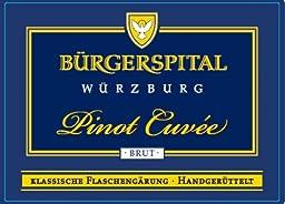 NV Buergerspital Pinot Cuvee Sekt 750 mL