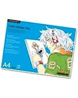 Letraset Comic Marker Pad, 70 gsm, 50 Sheets - A4