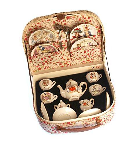 Reutter Porcelain Beatrix Potter Tea Set Peter Rabbit & Friends By Reutter Porcelain Medium