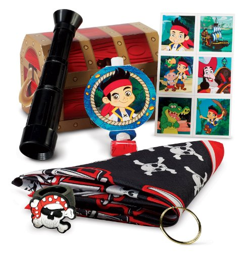 Disney Jake And The Never Land Pirates Party Favor Box