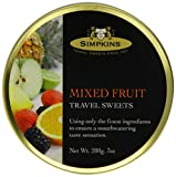 Simpkins Mixed Fruit Drops 200 g (Pack of 6)