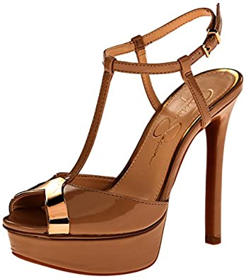 Jessica Simpson Women's Carys Dress Pump, Nude, 5 M US