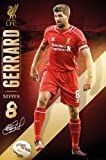 """Steven Gerrard - Liverpool 2014-2015 24""""x36"""" Art Print Poster"""