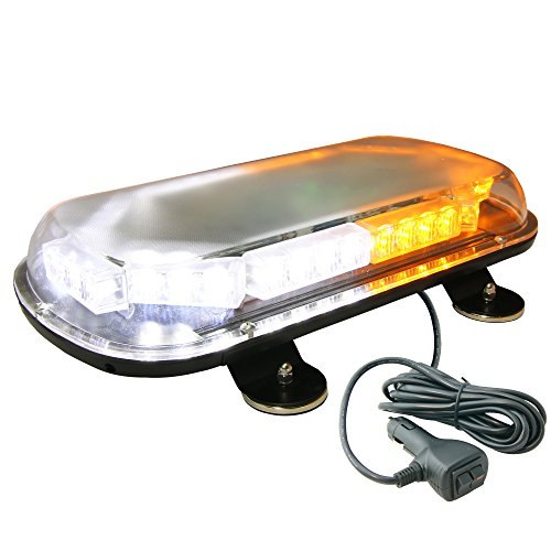 Lamphus Solarblast 34W Snow Plow Emergency Vehicle Warning Strobe Led Mini Light Bars ( Other Color Available ) - Amber White
