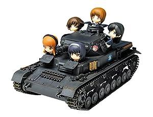 GP-26 1/35 ガールズ&パンツァー IV号戦車D型あんこうチームw/デフォルメあんこうチーム(パンツァージャケットver.)
