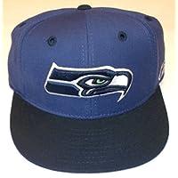 Seattle Seahawks Fitted Flat Bill Reebok Hat Size 7
