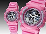 Zeiger Girls Teen Women Sport Kids Watch, Dual Time Analog-Digital Alarm Date Day Chronograph Pink Silicon Band
