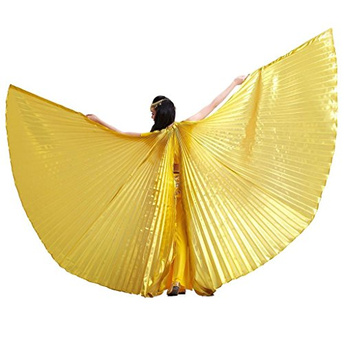 Pilot-trade Women's Egyptian Egypt Belly Dance Costume Bifurcate Isis Wings