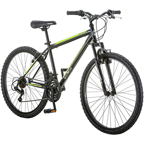 Discover Bargain Mountain Bikes 26 inch Extra Sturdy Outdoors Exercise Men's Bicycle 18 Speed Durabl...