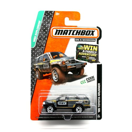 '85 Toyota 4Runner (Gray) * 2014 Mbx Explorers * Matchbox 1:64 Scale Basic Die-Cast Vehicle (#37 Of 120)