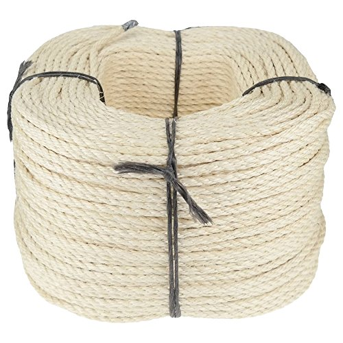 corde cordage en sisal 5mm 220m couronne 3 torons torsad cat gorie a 53 68. Black Bedroom Furniture Sets. Home Design Ideas