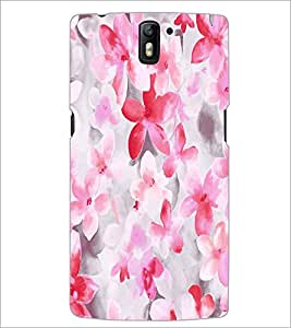 PRINTSWAG PINK FLOWERS Designer Back Cover Case for ONE PLUS ONE