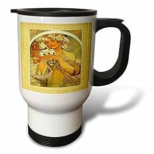 Amazon.com: Florene - Art Deco And Art Nouveau - Print of Muchas