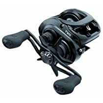 Daiwa TATULA100H 6.3:1 Gear Ratio Medium/Light Action Reel, Black