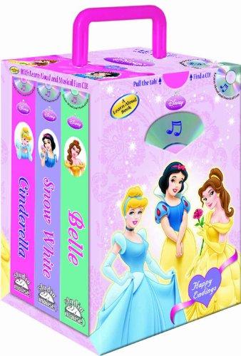 Disney Princess Happy Endings Set [With CD]