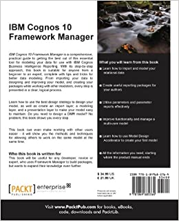 ibm cognos 10 framework manager terry curran pdf