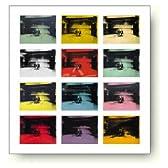 アンディ ウォーホル 12分儀の電気椅子 1964-65年 アートポスター